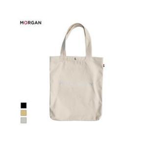 MORGAN/モルガン  MOF02 キャンバストートバッグ (シルバー)|murauchi
