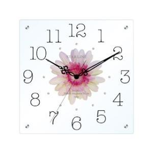 STARLINE スターライン SW-1198-PK ピンク アートフラワー掛け時計の商品画像|ナビ