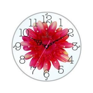 STARLINE スターライン STW-1188RD レッド アートフラワー置き時計の商品画像|ナビ