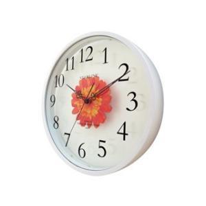 STARLINE スターライン SW-1191OR オレンジ アートフラワー掛け時計の商品画像|ナビ