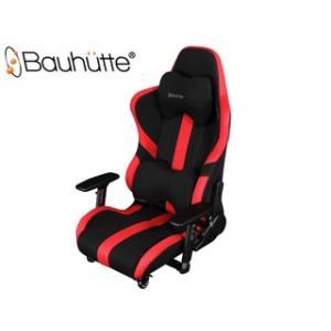 Bauhutte/バウヒュッテ  LOC-950RR-RD ゲーミング座椅子 [プロシリーズ] (レッド&ブラック) murauchi