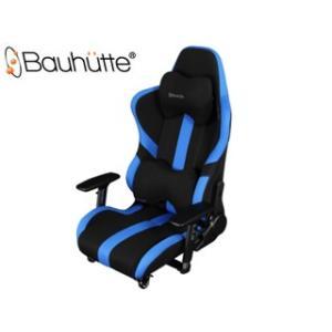 Bauhutte/バウヒュッテ  LOC-950RR-BU ゲーミング座椅子 [プロシリーズ] (ブルー&ブラック) murauchi