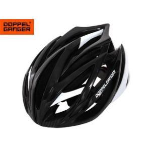 Doppelganger/ドッペルギャンガー  DHL360-WH ヘルメット (ホワイト/ブラック) [レネンシリーズ]【57-62cm】