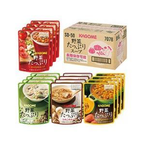 カゴメ 野菜たっぷりスープ詰合せ(16食)   SO−50|murauchi