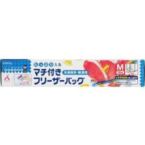 KUREHA/クレハトレーディング  マチ付きフリーザーバッグM 18枚|murauchi