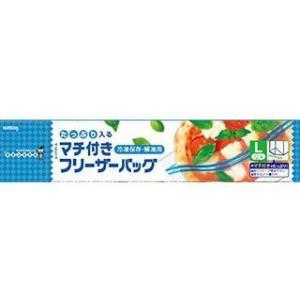 KUREHA/クレハトレーディング  マチ付きフリーザーバッグL 12枚|murauchi