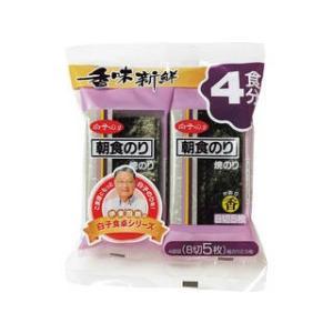 白子のり 焼朝食香(4袋入)   N焼朝食香4P|murauchi