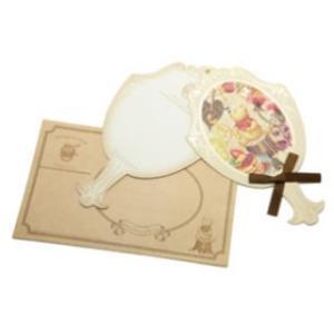 DAIGO/ダイゴー  【ピレアグラウカ】くまのプーさん 手鏡グリーティングカード N1571