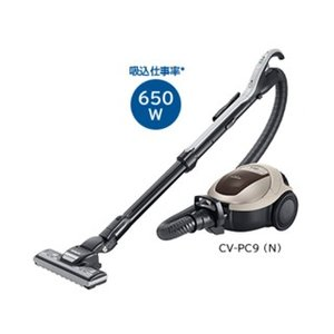 HITACHI/日立  パワーブラシ搭載紙パック式掃除機  CV-PC9-N(シャンパン)|murauchi