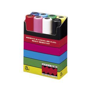 uni/三菱鉛筆 ポスカ 極太 8色 極太角芯...の関連商品1