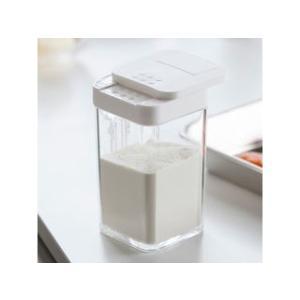 YAMAZAKI/山崎実業  【AQUA/アクア】小麦粉&スパイスボトル ホワイト|murauchi