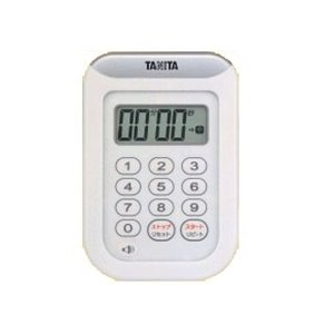 TANITA/タニタ  TD-378-WH 丸洗いタイマー100分計(ホワイト)|murauchi