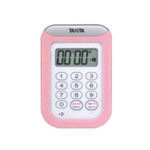 TANITA/タニタ  TD-378-PK 丸洗いタイマー100分計(ピンク)|murauchi