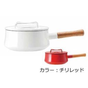 DANSK/ダンスク  【Kobenstyle Enamel/コベンスタイル】片手鍋/18cm チリレッド |murauchi