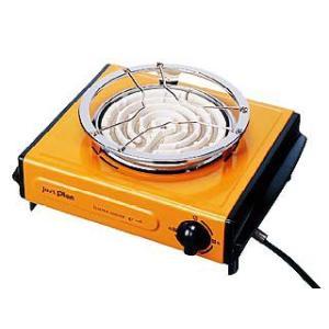 マクセルイズミ  IEC-105-D(オレンジ)  電気コンロ 食卓料理長