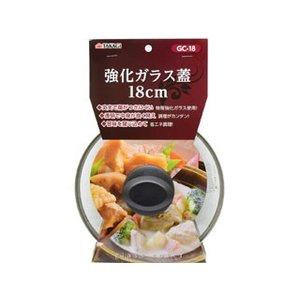 TAKAGI/高儀  強化ガラス蓋 18cm GC-18 murauchi