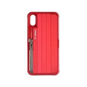 Velbon/ベルボン  QYCS-V102(RED) 自撮り棒付きiPhoneケース murauchi
