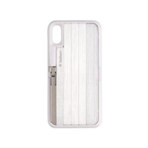 Velbon/ベルボン  QYCS-V102(WHITE) 自撮り棒付きiPhoneケース murauchi