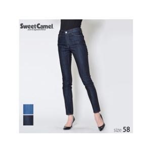 Sweet Camel/スウィートキャメル  レディース 体形補正 CAMELY スキニー パンツ (W5 ワンウォッシュ/サイズ58) SA9461|murauchi