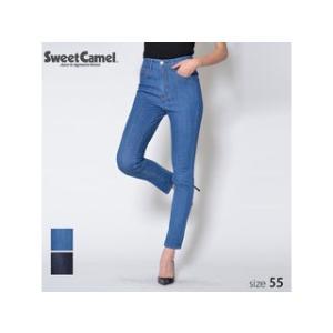 Sweet Camel/スウィートキャメル  レディース 体形補正 CAMELY スキニー パンツ (S5 中色加工色/サイズ55) SA9461|murauchi