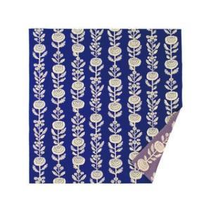 華みち 大判リバーシブルふろしき 11-9 ブルー の商品画像 ナビ