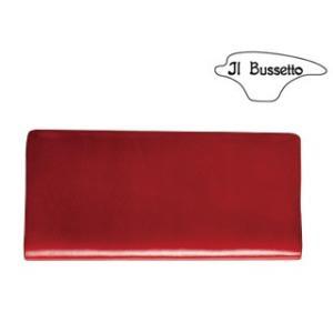 Il Bussetto/イルブセット  Long Wallet/長財布 【レッド】|murauchi