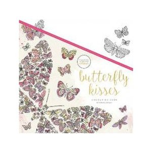 KAISERCRAFT/カイザークラフト  【KAISERCOLOUR】Butterfly Kisses Colouring Book(バタフライキッシーズカラーリングブック) CL529|murauchi