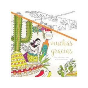 KAISERCRAFT/カイザークラフト  【KAISERCOLOUR】Muchas Gracias Colouring Book(ムーチャスグラシアスカラーリングブック) CL531|murauchi