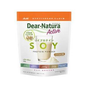 アサヒグループ食品  ディアナチュラアクティブ ソイプロテイン ソイミルク(360g)
