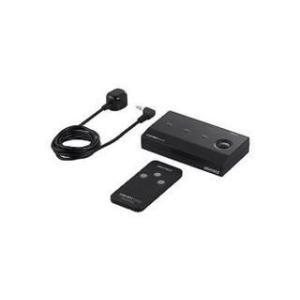 BUFFALO/バッファロー  HDMI切替器 3台用 リモコン付 取付ネジ付 フルHD/3D対応 ...