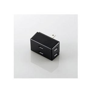 ELECOM/エレコム  トリプルタップ/3個口/ブラック TTR012300BK|murauchi