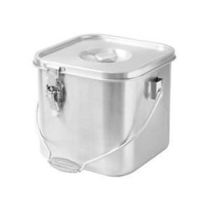 HONMA/本間製作所 IH対応 19−0 角型給食缶(目盛付)24cm