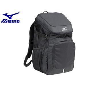 mizuno/ミズノ  33JD7102-90 チームバッグパック40-4 【約40L】 (ブラック)|murauchi