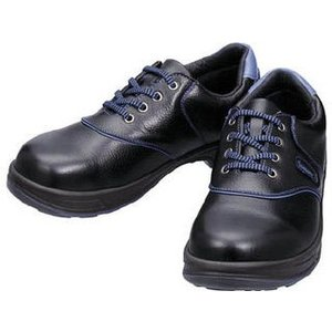 Simon/シモン  安全靴 短靴 SL11-BL黒/ブルー 23.5cm SL11BL-23.5
