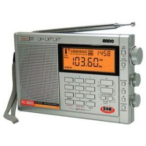 【nightsale】 ANDO/アンドー  PL7-468SL PLLシンセサイザーラジオ