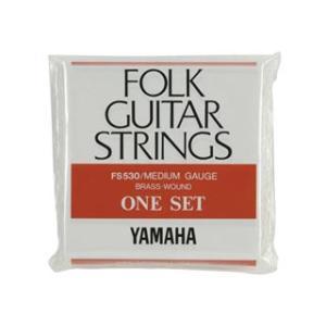 YAMAHA/ヤマハ  フォークギター弦セット FS-530 (ミディアムゲージ)|murauchi