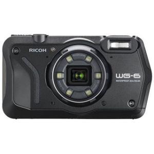 RICOH/リコー  WG-6(ブラック) 防水コンパクトデジタルカメラ