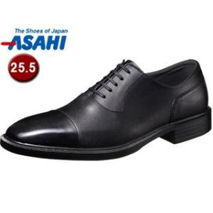 nightsale ASAHI アサヒシューズ AM33091 TK33-09 通勤快足 メンズ・ビジネスシューズ 25.5cm・3E ブラック の商品画像 ナビ