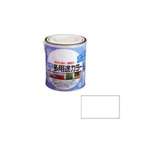 ASAHIPEN/アサヒペン  水性多用途カラー 1.6L ツヤ消し白