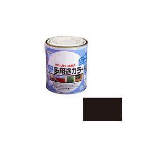ASAHIPEN/アサヒペン  水性多用途カラー 1.6L ツヤ消し黒