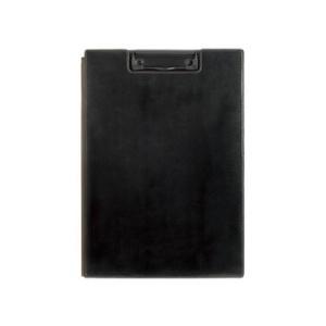 KINGJIM/キングジム  レザフェス クリップボード A4 カバー付 黒 A4判タテ型 1932LFクロ|murauchi