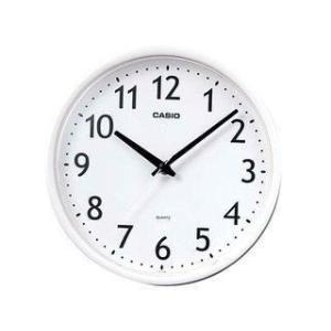 CASIO/カシオ  【5月上旬以降】カシオ IQ-58-7JF ホワイト 掛け時計 ステップ秒針/シンプル/小型 (IQ587JF )|murauchi