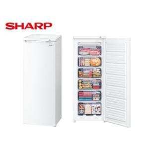 SHARP/シャープ  FJ-HS17X-W 直冷式 冷凍庫 片開きタイプ 【167L】(ホワイト系)|murauchi