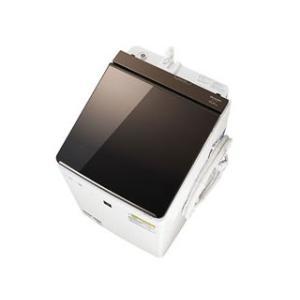 SHARP/シャープ  ES-PT10C-T タテ型洗濯乾燥機 (ブラウン系)【洗濯・脱水容量10kg】|murauchi
