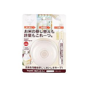 PEARL LIFE/パール金属  愛着道具 米びつろうと(ホワイト) C-8405 murauchi