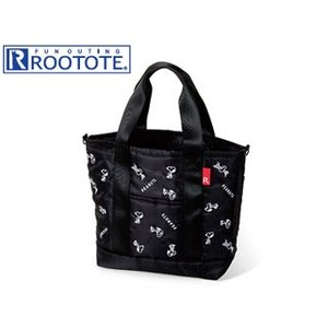 ROOTOTE/ルートート  4032 SN.デリ.パターン.PEANUTS-4Q BLACK murauchi