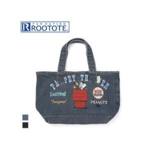 ROOTOTE/ルートート  DELI/デリ 4970 SC.デリ 刺繍 PEANUTS-3Y デニムトートバッグ (Pawpet) murauchi