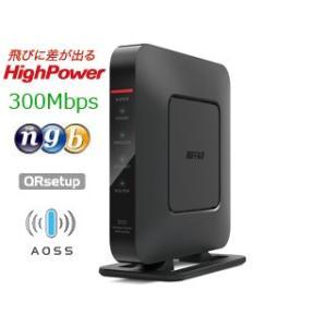 WSR300HP 11nハイパワー+有線Gigaで快適インターネット!Dr.Wi-Fiとインターネッ...