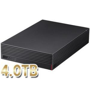 バッファロー  USB3.1(Gen1)/USB3.0外付けハードディスク 4TB PC用&TV録画用 みまもり合図対応 HD-NRLD4.0U3-BA murauchi