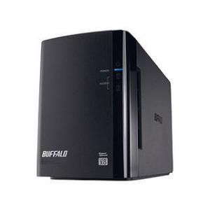 バッファロー  USB3.0対応外付ハードディスク 2ドライブ 4TB HD-WL4TU3/R1J
